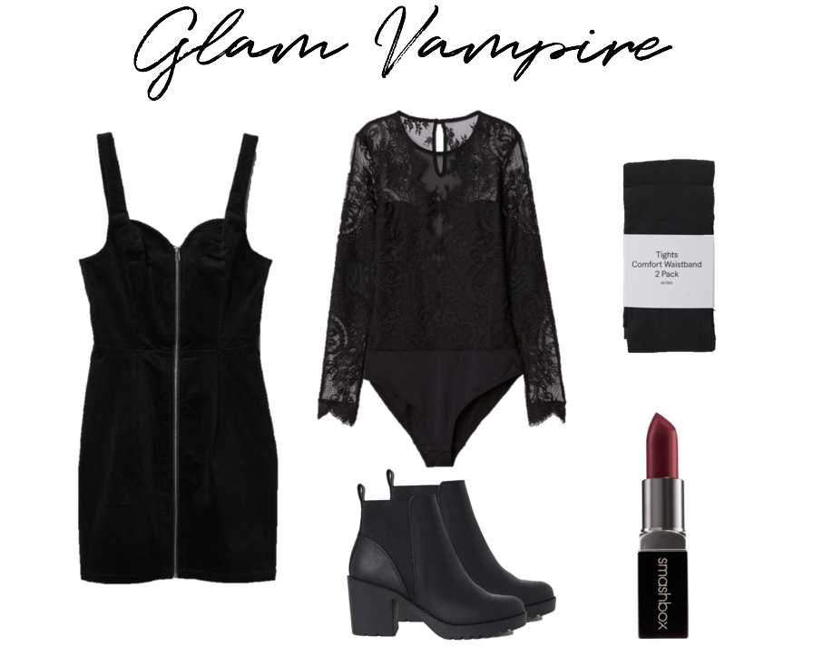 Glam Vampire Halloween Costume