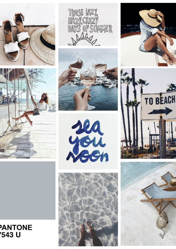 Mood Board: Beach Bum